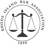 Logo Recognizing Law Offices of James P. Deffet LLC's affiliation with Rhode Island Bar Association